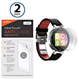 Alcatel OneTouch Armbanduhr Displayschutzfolie, BoxWave® [ClearTouch AntiGlare (2er Pack)] Anti-Fingerprint Matt Folie Schutzfolie für Alcatel OneTouch Armbanduhr