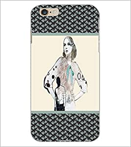 PrintDhaba Sketch D-3781 Back Case Cover for APPLE IPHONE 6 (Multi-Coloured)