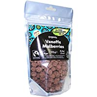The Raw Chocolate Co | Vanoffe Covered Mulberries | 2 x 6 x 125g