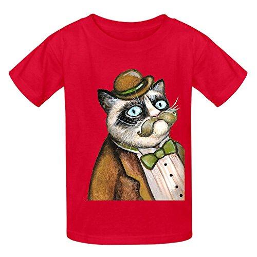 dapper-grumpy-cat-gatti-con-baffi-gioventu-girocollo-stampa-camicie-rosso-red-l-140