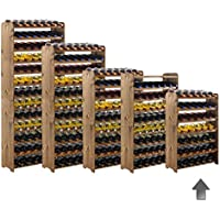 'Cantinetta/scaffale portabottiglie, legno sistema