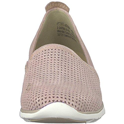 Marco Tozzi Pantofola da Donna 2-24709-20-952 Rosa Metallizzato Rosa