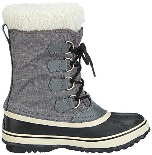 Sorel - Stivali da neve senza rivestimento interno, Donna Grigio (Grau (Pewter, Black 035))