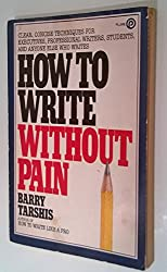 How to Write Without Pain