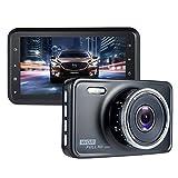 Telecamera per Auto,ViiVor Auto Dash Cam Full HD 1080P Obiettivo Grandangolare di 140 Gradi,G-Sensor, Registrazione in loop,visione notturna e modalità di parcheggio