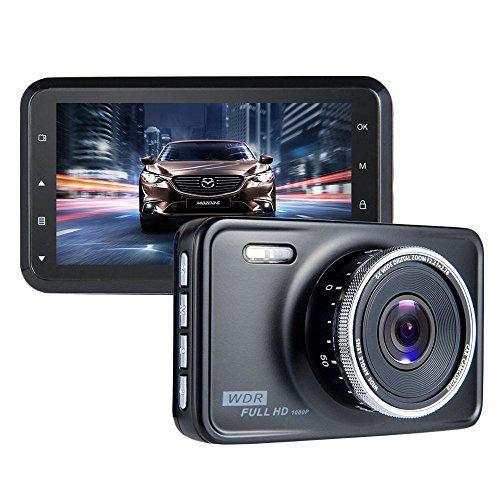 """Caméra De Voiture ViiVor Caméra Embarquée Full HD 1080P Écran 3.0"""",Dash Cam Grand Angle 140°,DVR,G-Sensor,Moniteur de Parking,WDR,Motion Detection,Loop Recording ,Vision de Nuit"""