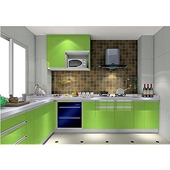 Küchen Folie amazon de kinlo 5x0 61 m pvc küchenschrank aufkleber selbstklebend