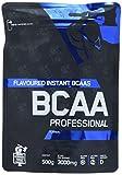 IronMaxx German Forge BCAA Professional, Orange – Supplement mit hohem Anteil an Aminosäuren (Verhältnis 2:1:1) für den Muskelaufbau beim Krafttraining – 1er Pack (1 x 500 g)