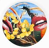 2012 Jeff Koons diseño de labios de plato