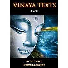Vinaya Texts (Part II) (English Edition)