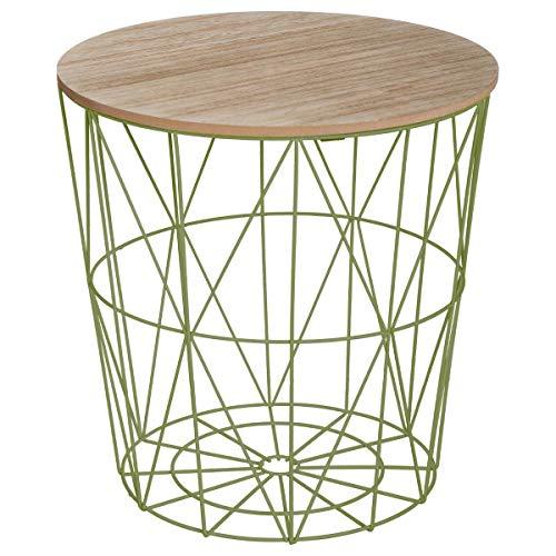 Atmosphera Table Basse Design Moderne - Style scandinave - Coloris Vert Anis