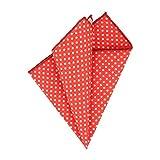 Snobbop pañuelo rojo con puntos blancos