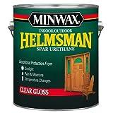 13200000 Minwax timonel interior/exterior de uretano Spar, 1 galón, alto brillo