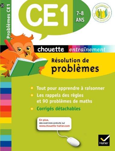 Chouette - Résolution de problèmes CE1