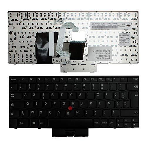 Nerd Herd IBM MP-10M86F0-3872W Mit Zeiger schwarz Brillen Schwarz Französisch kompatible Ersatz Tastatur