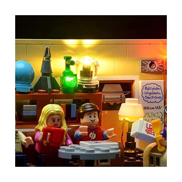 BRIKSMAX Kit di Illuminazione a LED per The Big Bang Theory, Compatibile con Il Modello Lego 21302 Mattoncini da… 4 spesavip