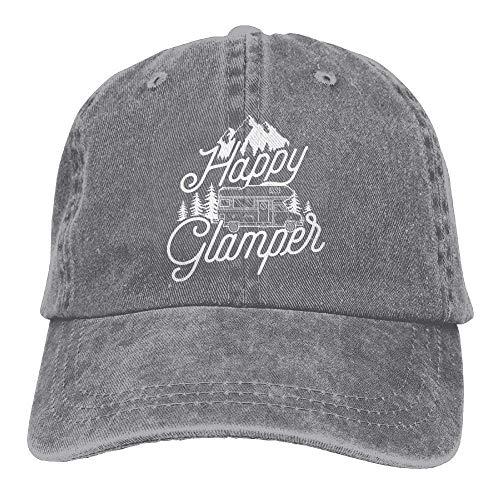 Happy Glamper Denim Hat Adjustable Female Baseball Hat