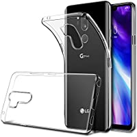 HWeggo LG G7 ThinQ Hülle Crystal Case Cover Soft Flex Silikon Handyhülle Ultra Dünn Weiche TPU Hüllen Kratzfeste Anti-Scratch Bumper Case Schutzhülle für LG G7-Transparent