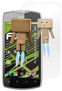 Acer Liquid Glow E330 Miroir Film Protecteur - atFoliX FX-Mirror Protection d'écran avec effet miroir