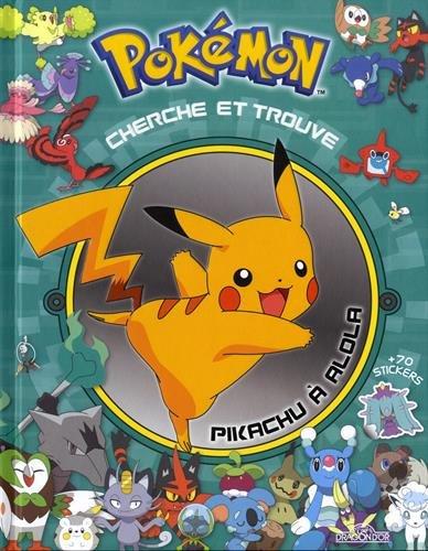 Cherche et trouve Pokemon : Pikachu à Alola