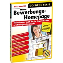 Data Becker Meine Bewerbungs-Homepage - Editores HTML (DEU)