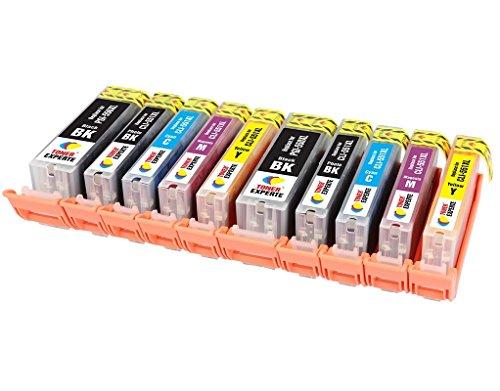 PGI-550XL CLI-551XL TONER EXPERTE® 10 XL Cartuchos