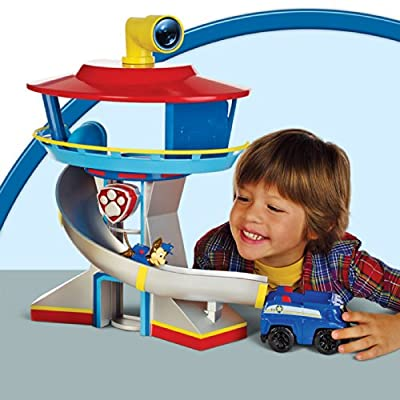 Paw Patrulla HQ Lookout Playset (English Version) de Spin Master