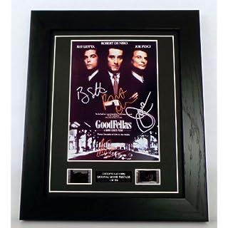 Goodfellas Signed + Goodfellas Film Cells Framed