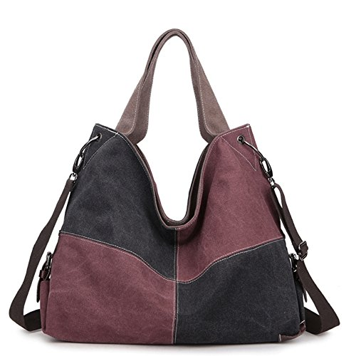 fanova-slpicing-colors-canvas-women-bag-casual-handbags-messenger-totes-lady-shopper-black