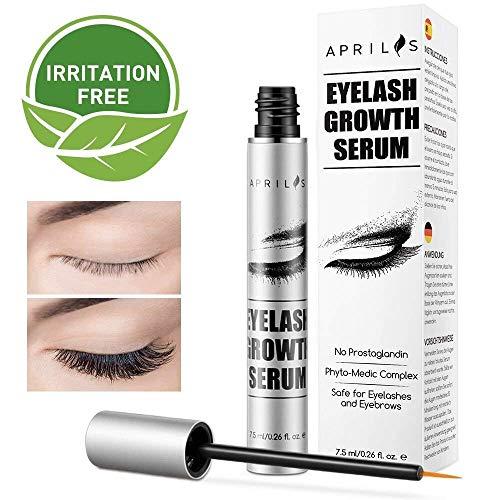 6ac1d0d8a5d Lash Longer Eyelash Growth Serum Treatment, Aprilis Lash Conditioner Enhancer  Growth Serum,Eyelash Booster for Naturally Longer, Fuller & Thicker  Eyelashes ...