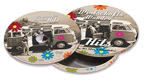 VW Collection by BRISA VW Bulli Kultschlager Musik der 50er und 60er Jahre in runder Metalldose, Wirtschaftswunder-Hits