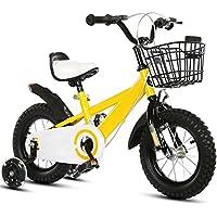 Bicicleta Bicicleta Niños Estudiante Niños Pequeños Niños Niñas Bebé Para Niños Neumáticos Mejorados Ajustables Acero Con Alto Contenido De Carbono ...