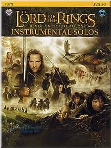The lord of the rings (le seigneur des anneaux) Partitions pour flute