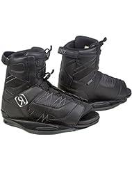 Ronix Divide - Botas de wakeboard para hombre, color negro, talla 44-48.5
