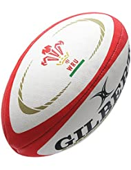 Wales Official Replica Rugby Ball White/Red