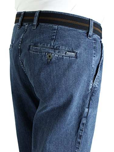 "PIONIER Hose ""ROBERT"" - Flat Front - Regular Fit blue stone (161)"