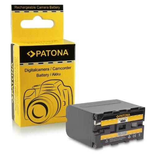Batteria de qualità premium come NP-F970 per SONY GV-A500, D200, D800, DSR-200, 300, PD100A, BC-V615, DCM-M1, DCR-TRU47E, MVC-CD1000, PLM-100, VCL-ES06A, CCD-TR1, TR200, TR215, TR3, TR300, TR3000, TR3300, TR416, DSC-CD100, CD250, CD400, TV900, D700, D770