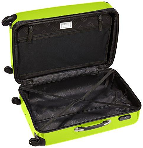 HAUPTSTADTKOFFER - Alex - Hartschalen-Koffer Koffer Trolley Rollkoffer Reisekoffer Erweiterbar, 4 Rollen, 75 cm, 119 Liter, Apfelgrün - 5