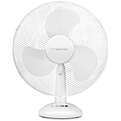 Trotec TVE 14Ventilateur de table | 3niveaux de ventilation, 90° et oscillation | Ventilateur de diamètre de pale 40cm