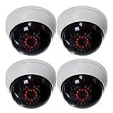 Best Sistemas de cámaras de seguridad de la bóveda - Camara falsa - SODIAL(R)4 en 1 CCTV interior Review