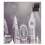 Home Collection London Eye Big Ben Design Slip in Fotoalbum für 10412,7x 17,8cm Fotos Foto Halter