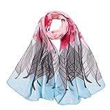 Regenschirm, 3 faltbar, UV-Schutz, für Damen, Blau