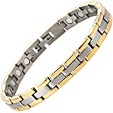 Willis Judd New Ladies Titanium Magnetic Bracelet In Black Velvet Gift Box + Free Link Removal Tool
