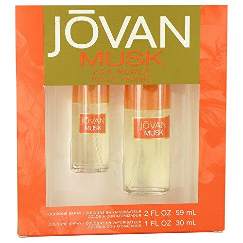 JOVAN MUSK by Jovan Gift Set -- 2 oz Cologne Spray + 1 oz Cologne Spray by Jovan - Jovan Musk Set