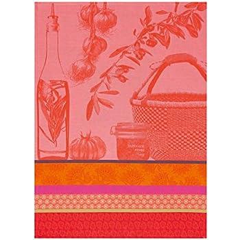 Le Jacquard Fran/çais 24731 Torchon Jardin des papillons Iris 60 x 80 Coton