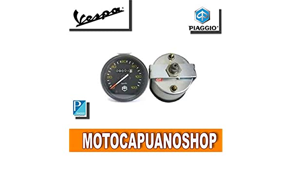 CONTACHILOMETRI COMPLETO DI TRASMISSIONE VESPA PX 125 150 200 R.O 190523