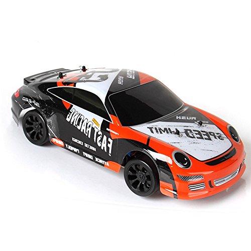 RC Drift Car kaufen Drift Car Bild 1: ZHAGOO Elektro Spielzeugautos A252, 2,4 G, Ma stab 1 24, 40 km h, 4 WD, RTR High Speed Funksteuerung, RC Drift Flat Sportwagen Spielzeug*