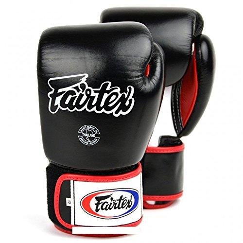 fairtex boxhandschuhe Fairtex Boxhandschuhe BGV1 - Black - Boxhandschuhe MMA Kickboxen Sparring Muay Thai Leder (10oz)