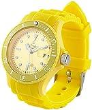 ST. Leonhard nc7162–944–Armbanduhr, Silikonarmband Farbe Gelb