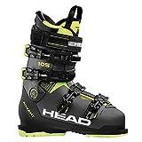 HEAD - Chaussures De Ski Advant Edge 105 Anthracite - Black - Homme - Taille 25 - Gris